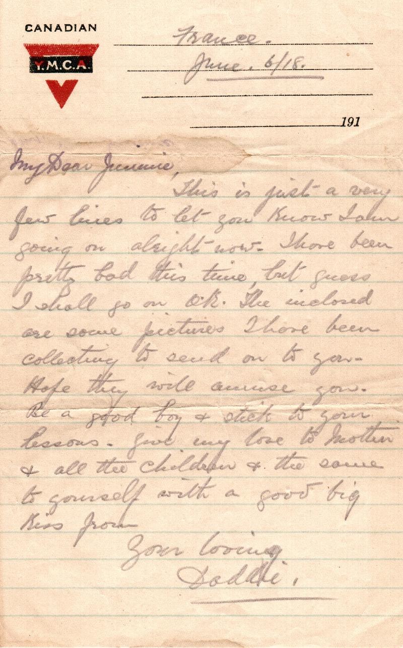Morris-White letter